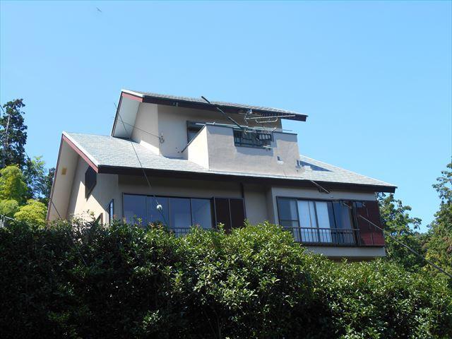 伊東市吉田の売戸建住宅の外観図