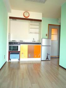 静岡市葵区四番町の賃貸マンションのキッチン