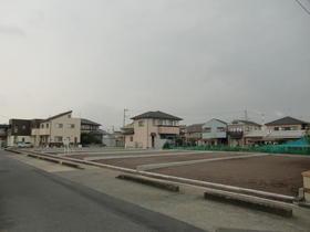 富士市川成島の売土地,売り地の外観図