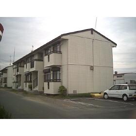 磐田市上岡田の賃貸アパートの外観図