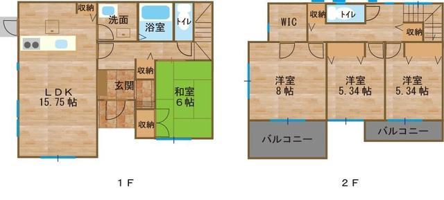 I-town和田 D棟 玄関はスマートキーで、シューズインクローク付きです。全室収納付きです。当社規定の外構付きです。