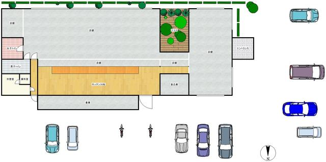 広い駐車場 建築家 黒川紀章氏設計